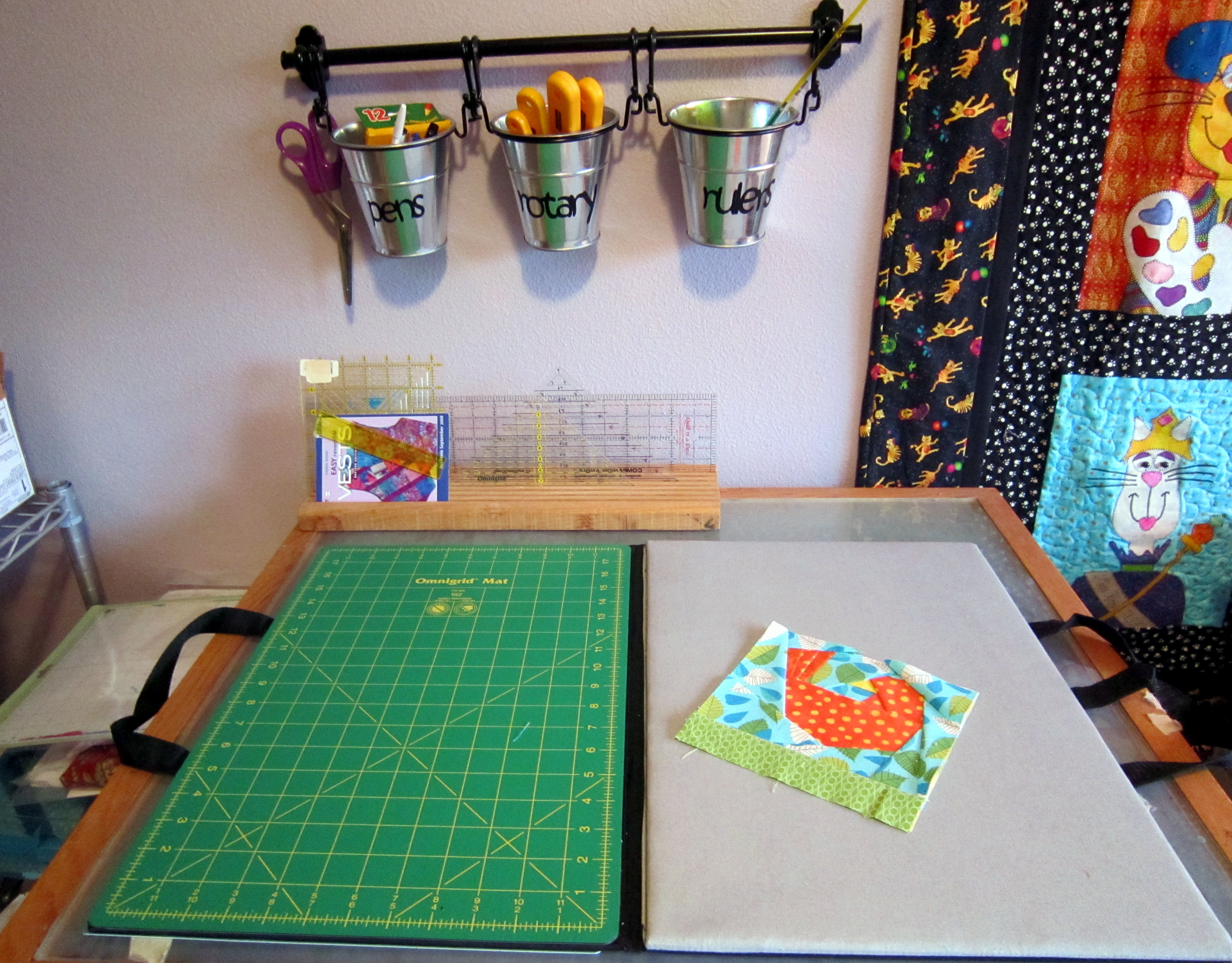 Organizing My Quilting Tools The Quilted Cat