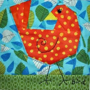 Bird Block Close-Up