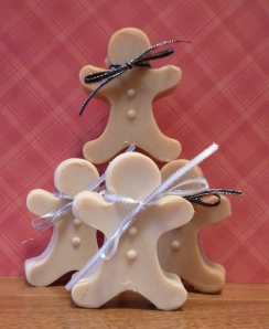 Gingerbread Holiday Soaps