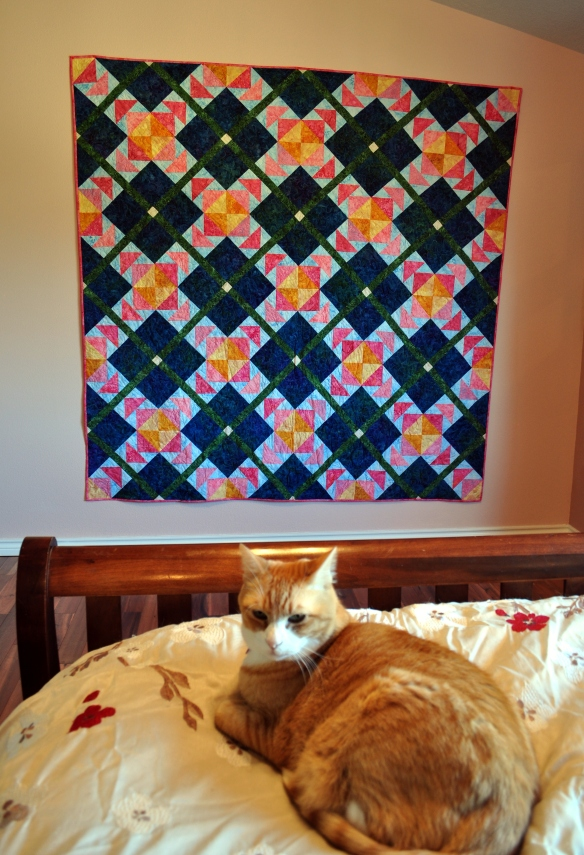 Finished Island Breeze Quilt
