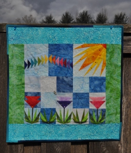 Completed One Sunny Day Quilt