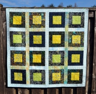 Prize Quilt in Sunshine