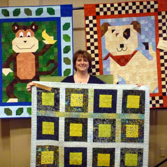 Prize Quilt with Golden Ticket