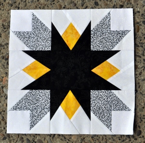Black, White, and Yellow Zinger by Dorothy H