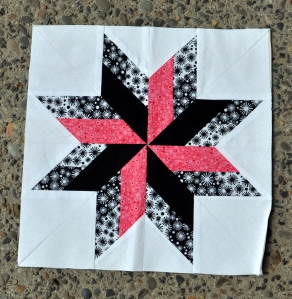 Black/White/Pink Zinger by Erica W