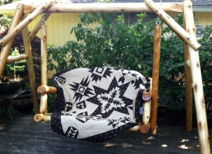 Quilt on a Swing