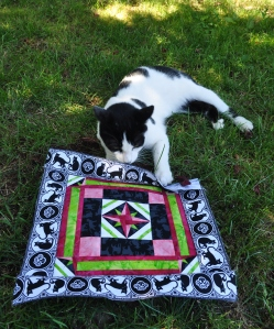 Cow and the Mini Quilt