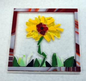 Pre-Fused Glass Tile