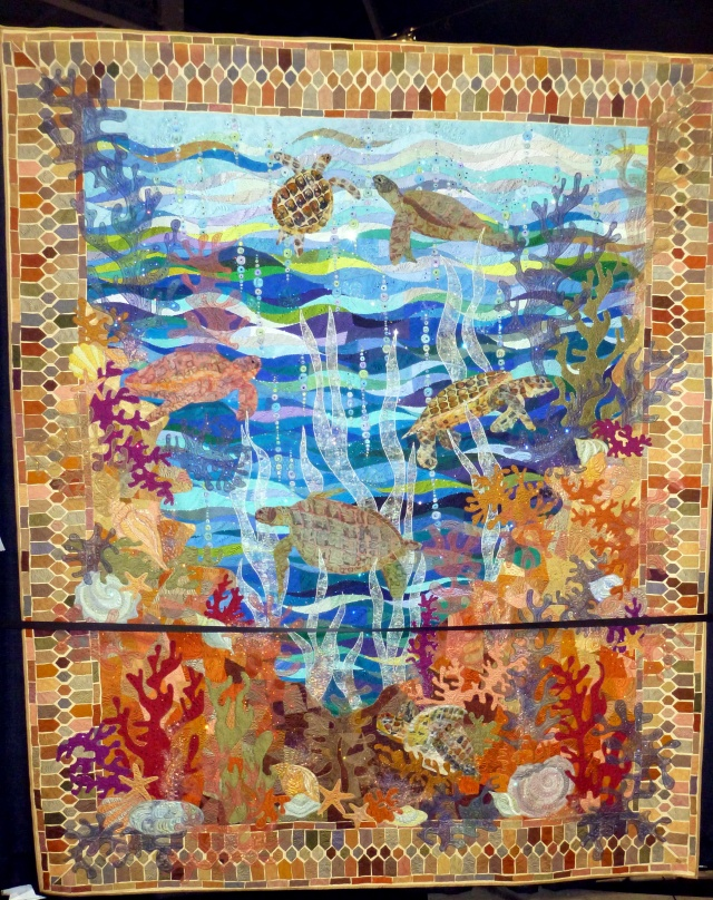 First Place, Pictorial Quilts, Made by Claudia Pfeil