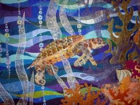 Quilt Closeup, Made by Claudia Pfeil