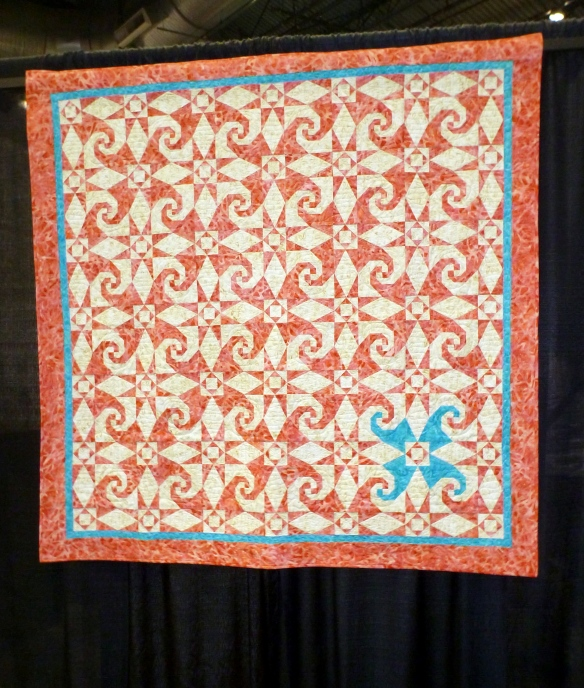Hummer Storm at 2013 NW Quilt Expo
