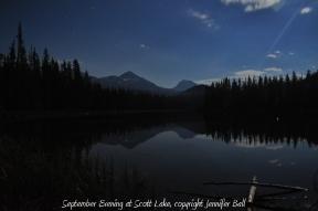 Scott Lake in Evening
