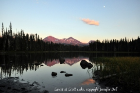 Scott Lake at Sunset