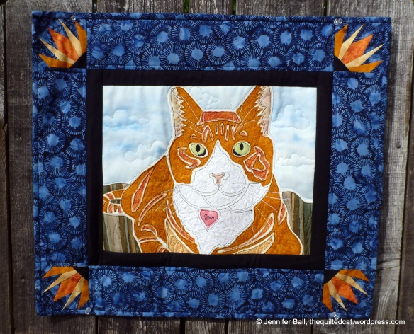 Tiger, the Quilted Cat