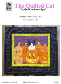 Pumpkin Patch Cat