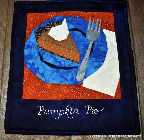 Pumpkin Pie Block