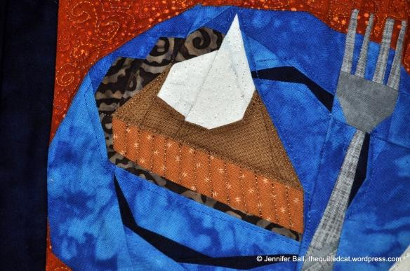 Pumpkin Pie Closeup