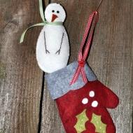 Snowman and Mitten