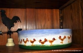 Chicken Theme Serving Bowl