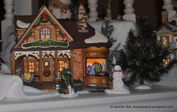 A Holiday Needlework and Quilt Shop