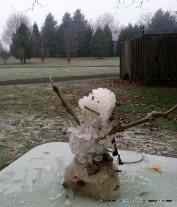A little frostman!