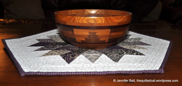 Rock Candy with Handmade Wooden Bowl