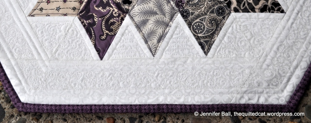 Rock Candy Quilting Detail