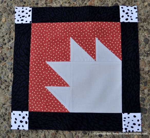 Aurifil BOM - April Block