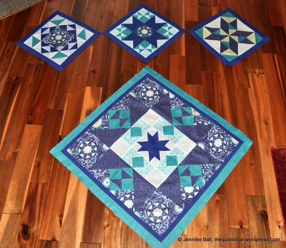 Reach for the Stars, Blocks 1-3 with Center Medallion