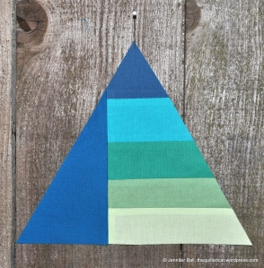 Wedding Triangle with Solid on 1 side