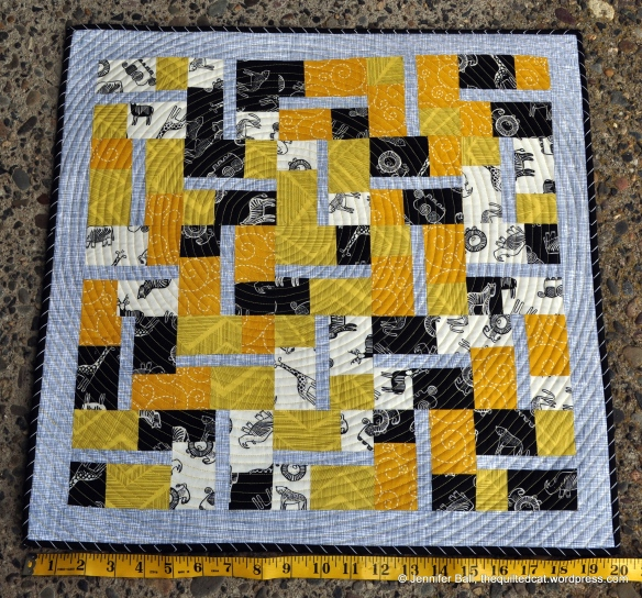 Sunny Savannah, Completed Quilt