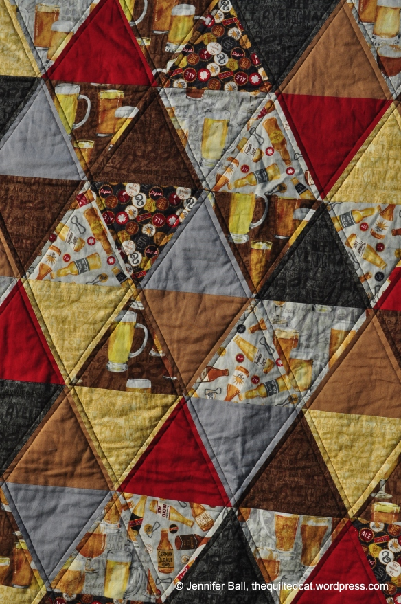 Up-Close Look at the Quilting