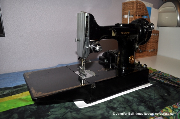 Singer Featherweight Side View