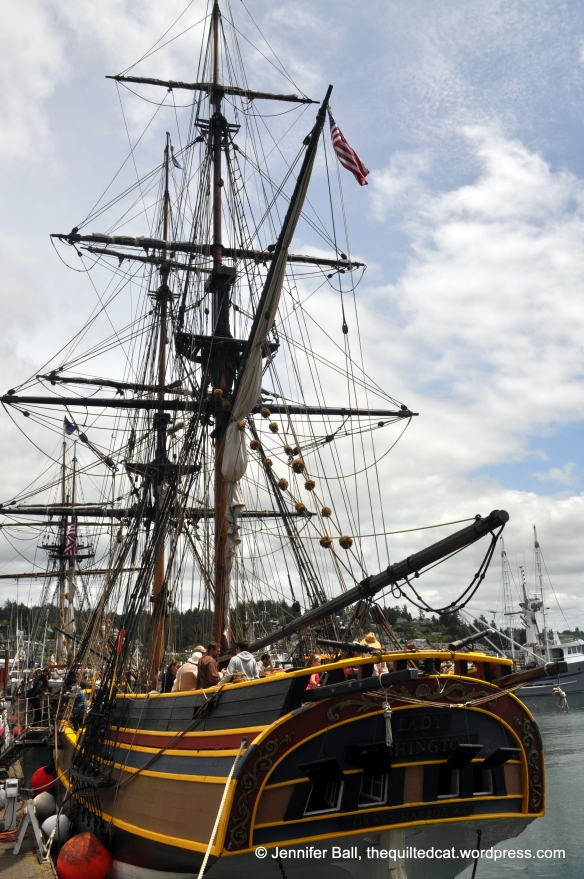 Tall Ship - the Lady Washington