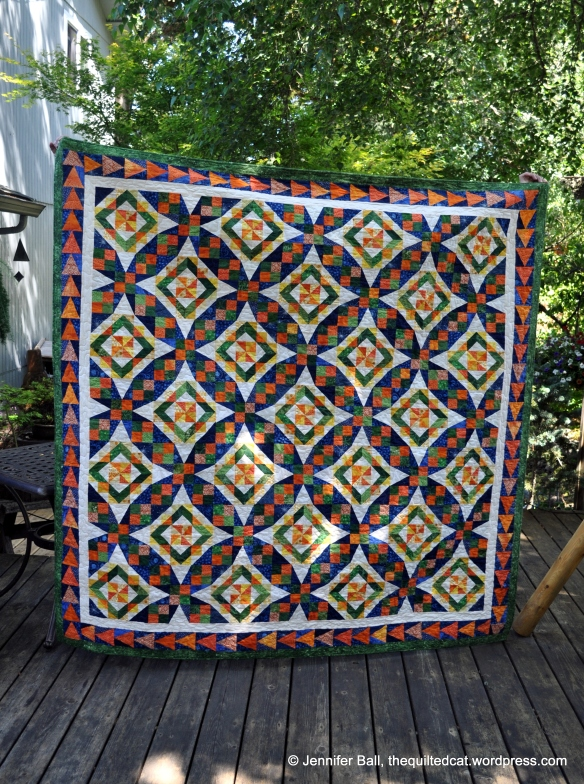 Finished Celtic Solstice Quilt