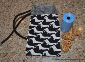 Doggie Poo Bag and Treat Holder