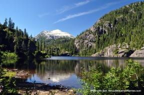 Baby Bedwell Lake, Strathcona Provincial Park, BC
