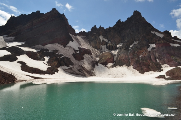Unnamed Glacier Lake at Broken Top