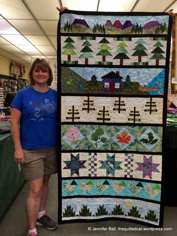 Row by Row 2014 Experience - Finished Quilt!