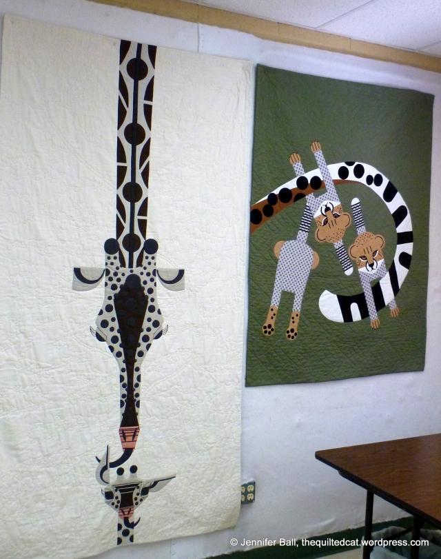 Giraffe and Cheetah Quilts