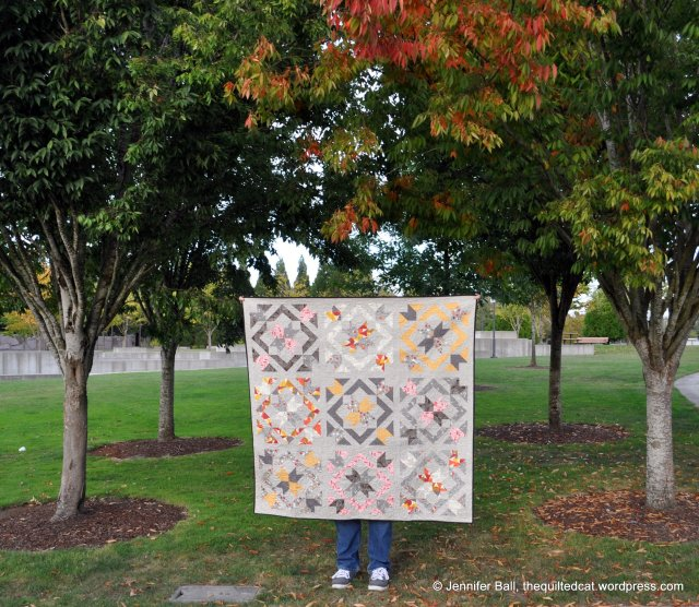 Star Light Star Bright Quilt and the Fall Leaves