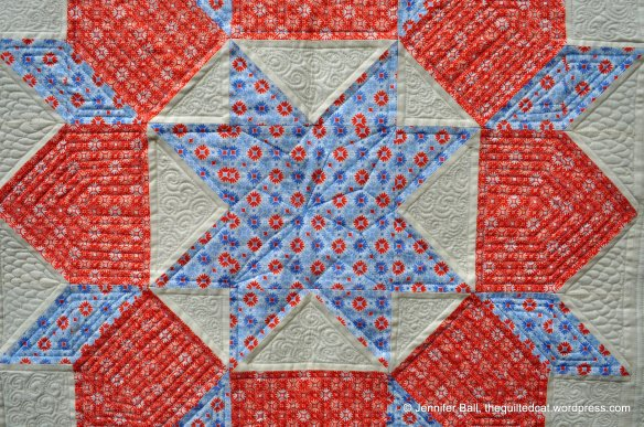 Free-Motion Quilting on Swoon Block