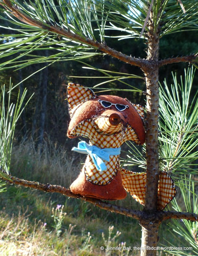 Fox Critter with Cool Shades