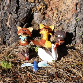 Critters in the Ponderosa Pines