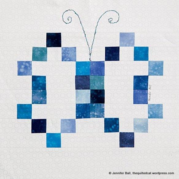 Butterfly Block in Quiltmaker's 100 Blocks, Volume 10
