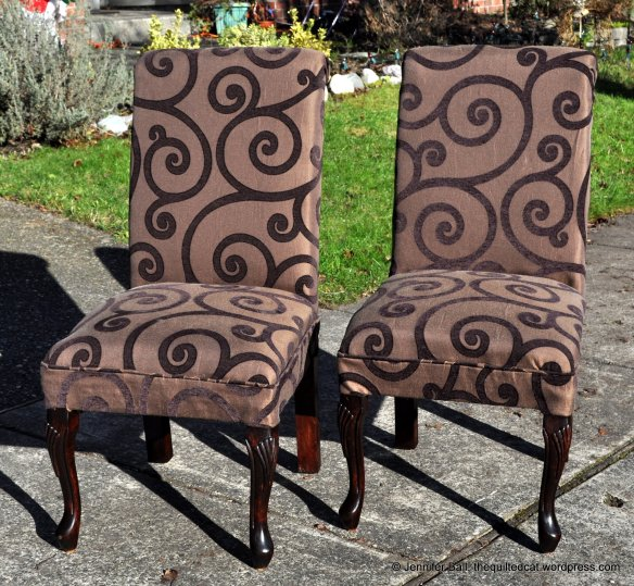 Re-upholstered Chairs!