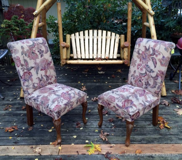 Thrift Store Chairs (Before)