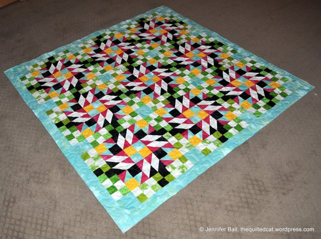 Grand Illusion quilted
