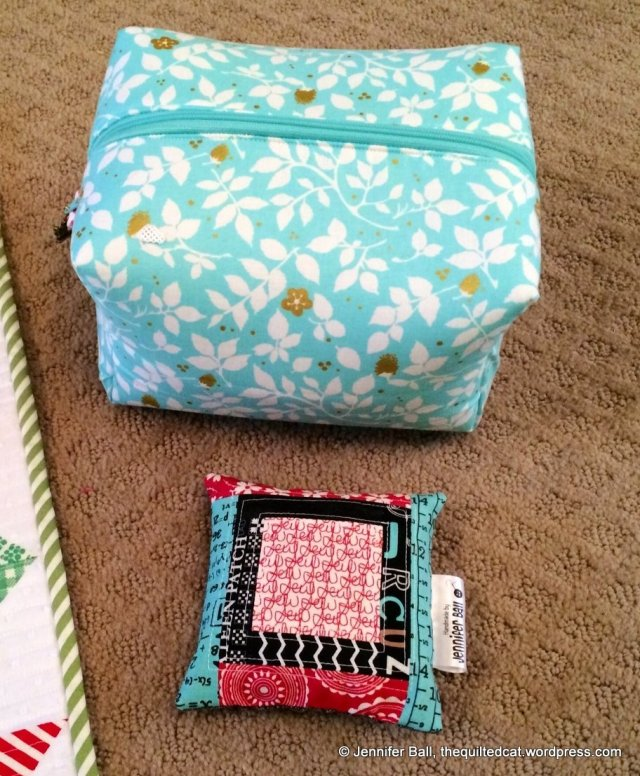 Swap Extras: No Guts Boxie Pouch and a Pin Cushion!