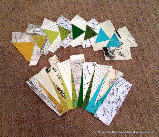 Paper pieced segments